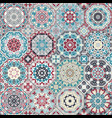 a set of multicolor tiles vector image vector image