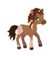 adorable cartoon horse character