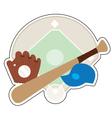 Baseball Stuff vector image vector image
