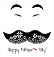 Happy Fathers day background or card vector image vector image