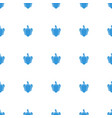 pepper icon pattern seamless white background vector image vector image