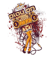 Play on vector image vector image