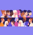 racial diversity concept vector image
