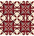 seamless pattern tiled geometric abstract vector image vector image