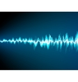 Sound wave abstract background EPS 10 vector image