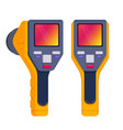 thermal imaging camera vector image
