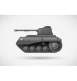 A military armoured tank vector image vector image
