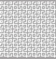 abstract seamless maze pattern geometric silver vector image vector image