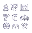Car service maintenance icon Auto repair vector image vector image