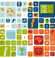football soccer infographic vector image vector image