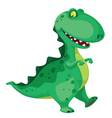 going dinosaur vector image vector image