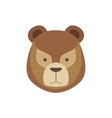 Head Of The Brown Bear vector image