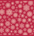 christmas seamless background eps 10 vector image