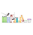 construction foam silicone sealant glue and vector image vector image