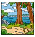 natural background australian coast