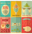 New Year Cards vector image