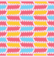 peach memphis style geometric stripes seamless vector image vector image