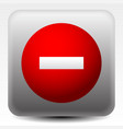 Prohibition restriction sign icon do not enter
