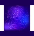 sci-fi abstract matrix futuristic technology vector image