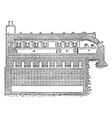 tank furnace vintage vector image vector image