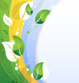 Conceptual nature background vector image vector image