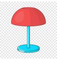 desk lamp icon cartoon style vector image vector image