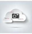 Digital photo camera icon Photography vector image