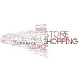 e-store word cloud concept vector image vector image