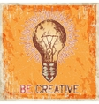 Hand drawn sketch - creative vector image vector image