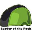 Leader of the Pack vector image vector image