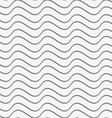Perforated paper with horizontal thin waves vector image vector image
