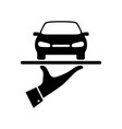 rental car vector image