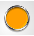 round shape with silver frame vector image