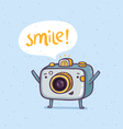 Smile photo vector image