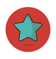 Star favorite icon vector image