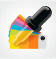 color picker icon vector image