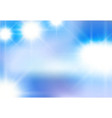 abstract background of white light beaming vector image