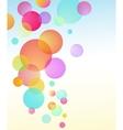 abstract bubble baloon vector image