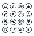 B2B icons universal set vector image