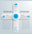 business web design infographics vector image vector image