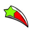 cartoon star vector image