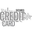 good for worst credit cards for people with bad vector image vector image
