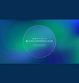 gradient fluid blue green color abstract vector image vector image