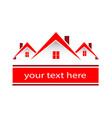 house home environment friendly logo vector image