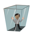 in the box vector image vector image