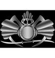 Native fantasy shield vector image