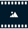 photograph - icon vector image