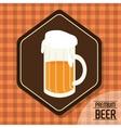 Premium beer graphic vector image vector image
