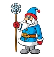 Santa Claus festive character vector image