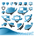 Shield Security Collection vector image vector image